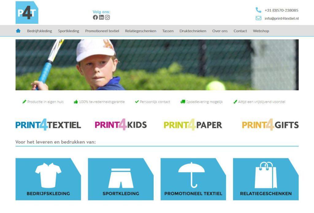 Print 4 Textiel